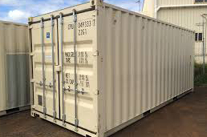 Small Move Experts International Shipping Container