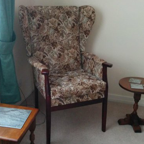 Small Move Experts Wingback Chair